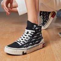 LI-NING 李寧 迪士尼聯名 AGCQ165 情侶帆布鞋