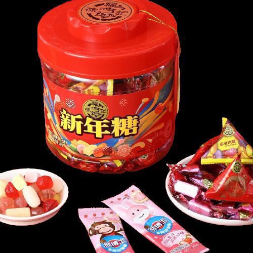 徐福记 年糖 新年糖桶 550g