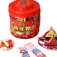 2日0点截止、京东PLUS会员:徐福记 混合口味什锦糖 新年糖桶  550g *3件