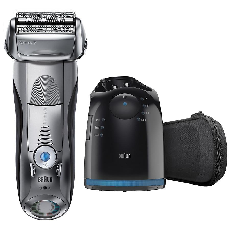 790cc Men's Electric Foil Shaver with Clean & Charge Station