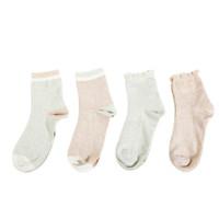 京东PLUS会员、PLUS会员 : LEYUN 乐孕 孕产妇中筒袜 4双装