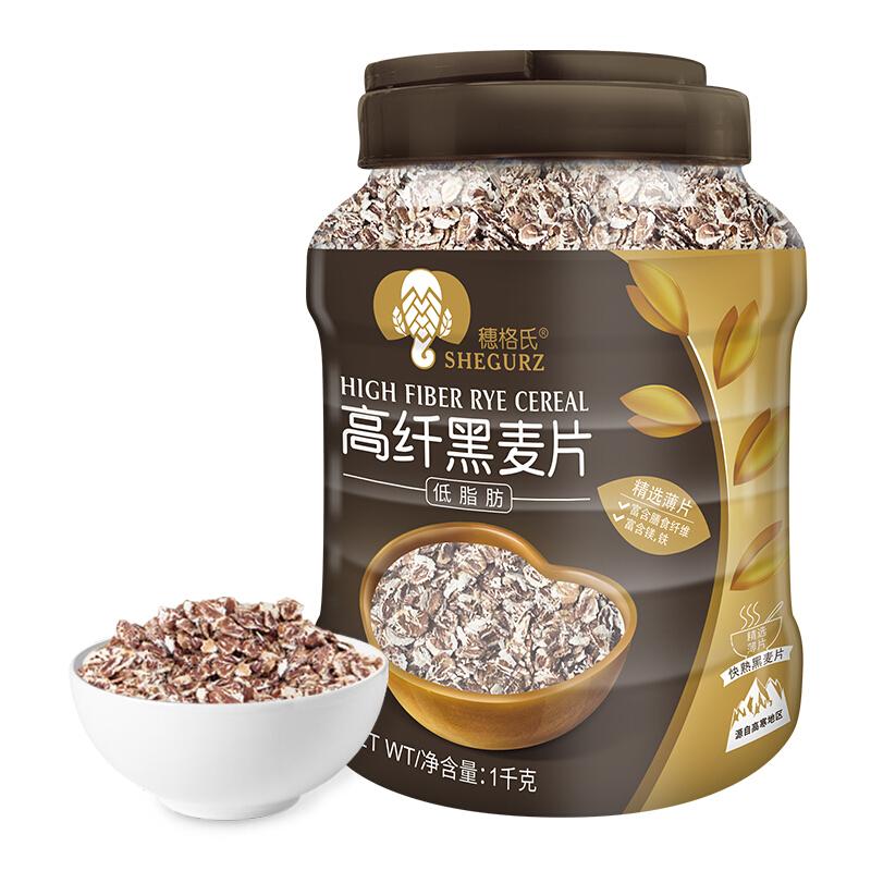 SHEGURZ 穗格氏 高纤黑麦片 低脂肪 1kg