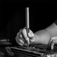 WOWSTICK 1F+精修迷你電動螺絲刀充電式小型便攜家用電腦拆解維修專業工具 wowstick 1F+鋰電池充電式A套餐
