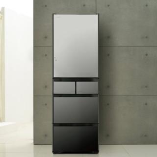 HITACHI 日立 R-XG420KC 风冷多门冰箱 401L 水晶镜色