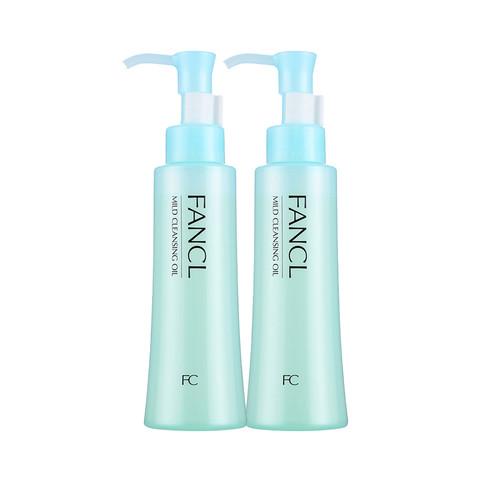 日本FANCL进口无添加卸妆油保湿深层清洁120ml 2瓶组合装专柜版