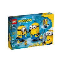 考拉海购黑卡会员:LEGO 乐高 Minions小黄人系列 75551 玩变小黄人
