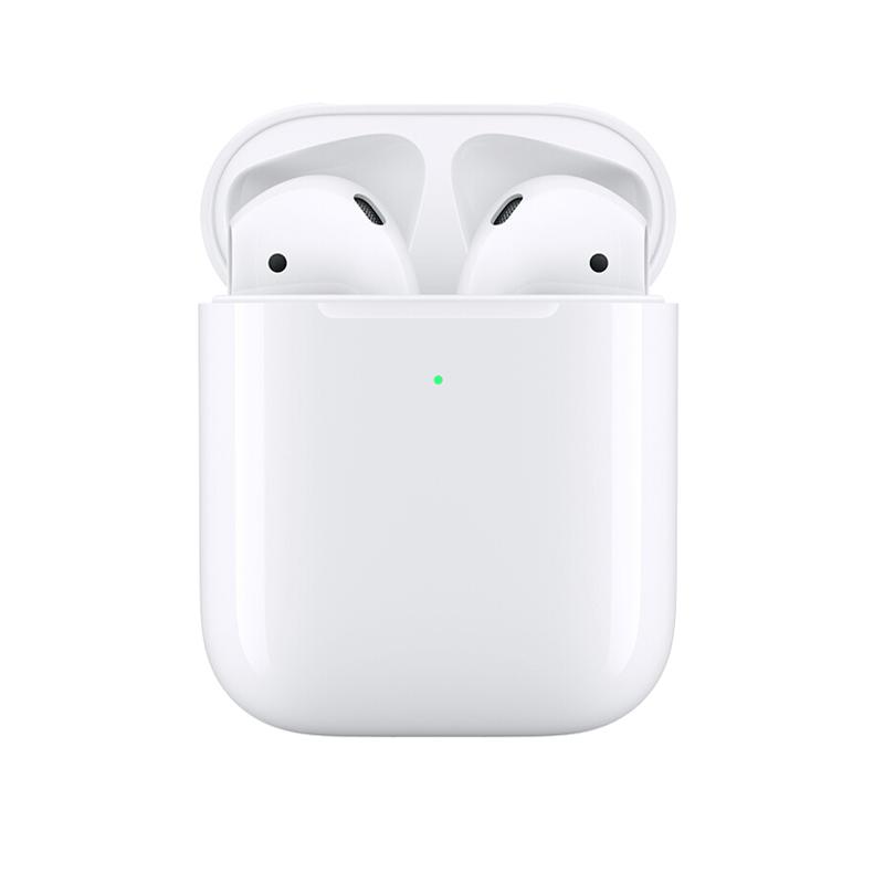 Apple 苹果 AirPods 2 半入耳式真无线蓝牙耳机 有线充电盒 白色