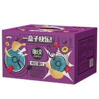 可比克 纯切薯片膨化礼包 一盒子快乐 30g*10包  *2件