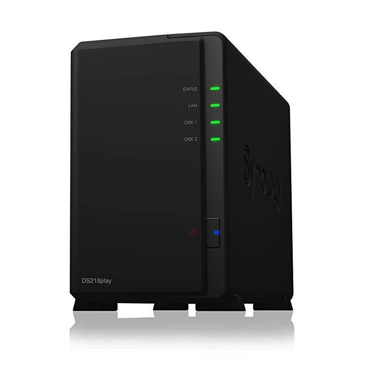 Synology 群晖 iosafe218 2盘位NAS(RTD1296、2GB)