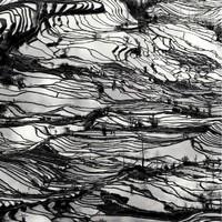 艺术品:葡萄牙艺术家Kairos中国山水研习7号ChinesePainting Study No.7