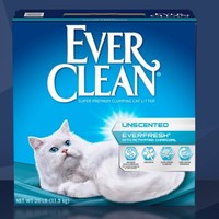 Ever Clean 铂钻 活性炭除臭猫砂 白标 50磅