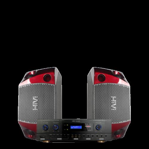 HiVi 惠威 惠威(HiVi)H100点歌机家庭影院10英寸家庭ktv音响套装家用卡拉OK双系统一体机 基础版(音箱+功放)600W