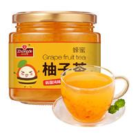 众德 蜂蜜柚子果茶 500g *2件+ 楼兰蜜语 坚果礼盒 1606g +凑单品