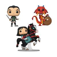 Pop Disney Mulan Collectors Set - 10\