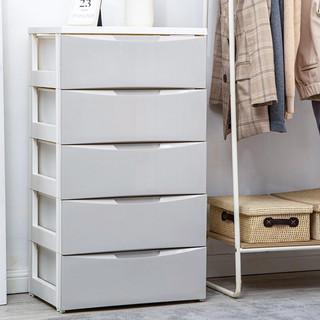 IRIS 爱丽思 HG-555B 收纳柜 (5层、抽屉式、55*41*99.5cm、灰色)