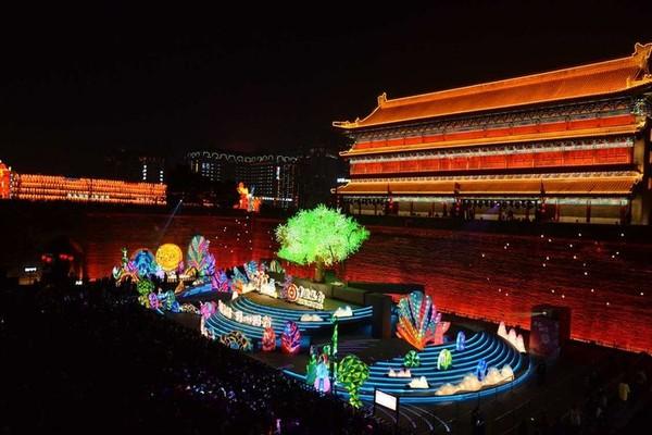 西安城墙灯会vs大唐芙蓉园新春大潮会