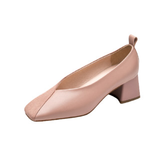 CNE 真适意 女士皮革平底鞋 21001