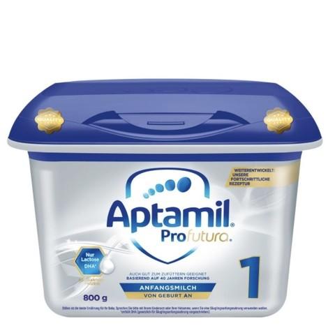 Aptamil 爱他美 Profutura 铂金版 婴儿奶粉 1段 800g *4件