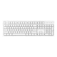 Irok 艾石头 FE 104  104键键机械键盘   白色 茶轴