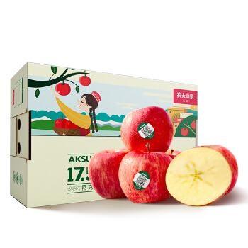 NONGFU SPRING 农夫山泉 17.5° 阿克苏苹果 果径85-89mm 14个装 *3件