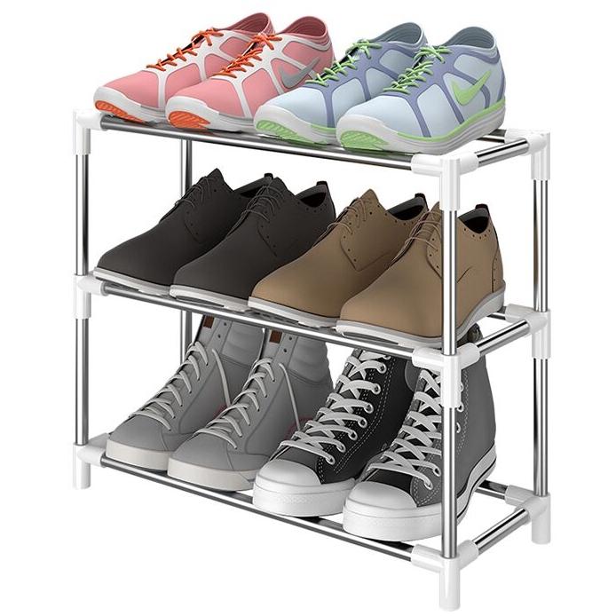 HUIQI 惠奇 家用经济简易鞋架 G款 框架 长42CM