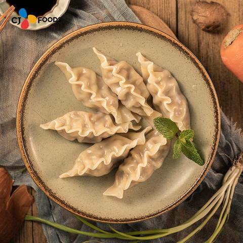 希杰必品阁Bibigo牛肉王水饺速冻饺子300g*3蒸饺煎饺锅贴营养早餐