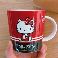 Hello Kitty 凯蒂猫 陶瓷马克杯 300ml