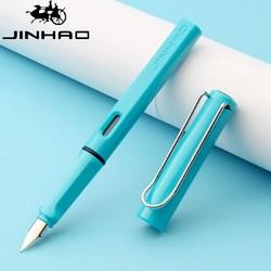 金豪 619 学生正姿钢笔 0.38mm 送5支墨囊 *10件