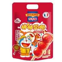 京东PLUS会员、限地区:MILKANA 百吉福 棒棒奶酪 冰糖葫芦味 500g/25粒装 *4件