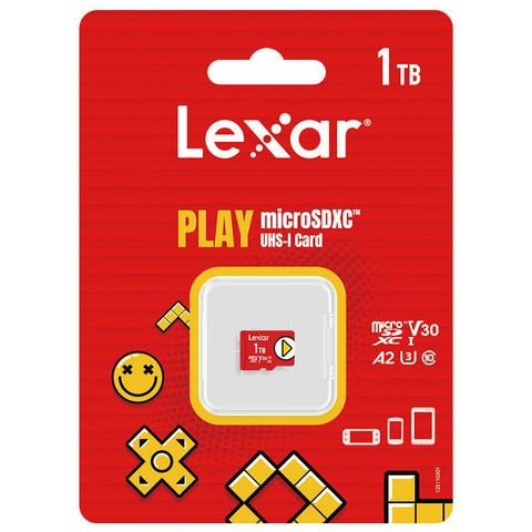 Lexar 雷克沙 microSDXC A2 UHS-I U3 TF存储卡 1TB 任天堂主机专用