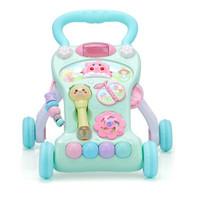 Beautoys 婴儿学步车 防侧翻手推车宝宝学走路助步平衡车儿童多功能滑行车玩具新年礼物+凑单品