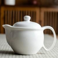 唐仟 白色鸭嘴茶壶 1个装