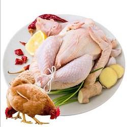 呈祥 国产新鲜土鸡三黄鸡 700g *3件