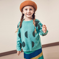 Mini Balabala 迷你巴拉巴拉 女童针织衫