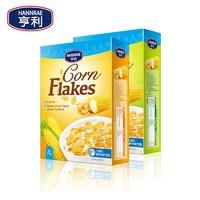 亨利 欧洲进口低脂玉米片 2盒