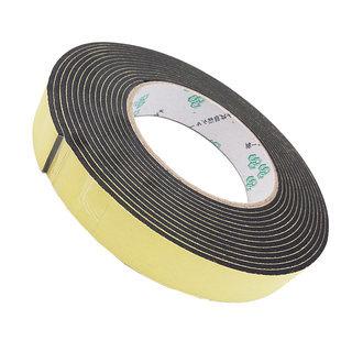欧文 EVA黑色泡棉单面胶带 2卷 共10m
