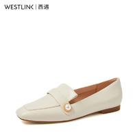 westlink 西遇 20103116C 女士英伦乐福鞋