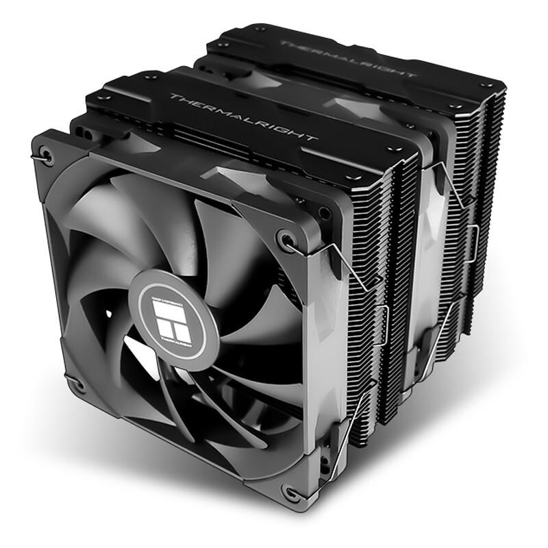 Thermalright 利民 PA120 BLACK AGHP 暗黑刺客 CPU风冷散热器