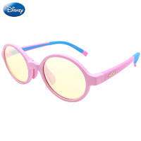 迪士尼(Disney)兒童防藍光眼鏡手機電腦護目鏡男女通用5-12歲 粉色+湊單品