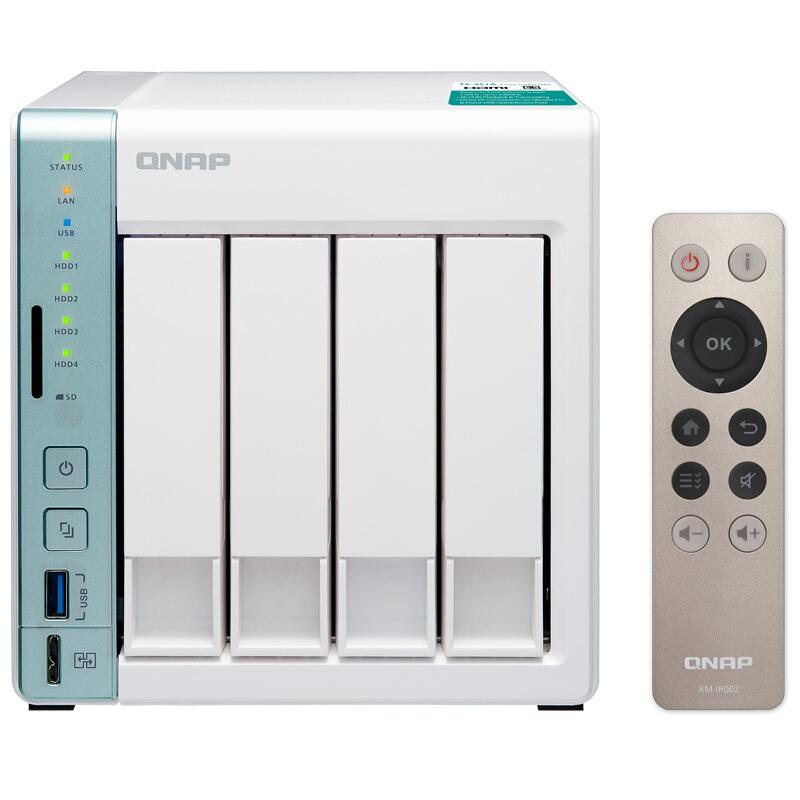 QNAP 威联通 TS-453A 4盘位NAS(N3150)