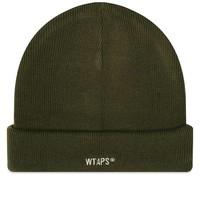 WTAPS Beanie 04 男士针织帽 军绿色