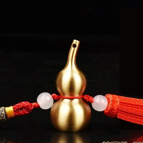 和堂悦舍 铜葫芦风水摆件