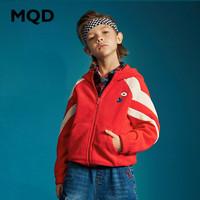 MQD 马骑顿 男童摇粒绒卫衣外套