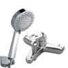 JOMOO 九牧 卫浴套装 3577-050龙头+S175015-2B02-1花洒 5英寸