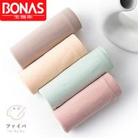 BONAS 宝娜斯DS1001女式内裤大码 4条装 *2件