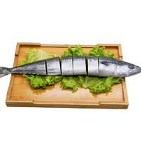 京东PLUS会员:gaishi  盖世 冷冻渤海鲅鱼 马鲛鱼 500g 整条 *10件