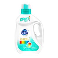 超能新品花漾护色酵素洗衣液1kg香味持久防串色 家用实惠可手洗