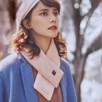 飛樂思充電護頸加熱護肩脖女士圍巾電加熱發熱頸巾保暖圍脖男禮物