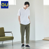 GU極優男裝GU DRY彈力松緊九分褲2020夏季新款商務西裝褲 323168