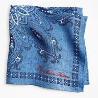 Square Medallion Pocket Square
